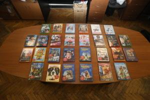 DVD диски с фильмами с тифлокомментариями