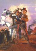"""Постер фильма """"Назад в будущее 3"""""""